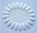 Kleurenwiel voor nagellak kleuren wit